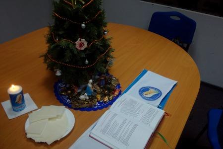 Святкування Різдва з волонтерами Радіо Марія