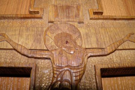На Рівненшині закривоточив дерев'яний напрестольний хрест