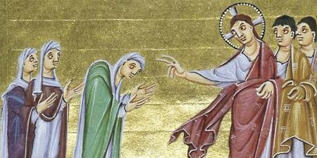"""""""Скорчена жінка - це образ людини, яка не дивиться на Небо"""", - коментар Євангелія дня"""
