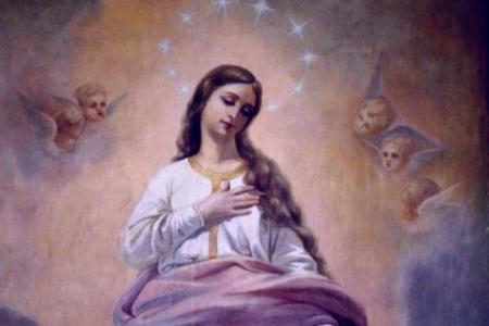 «Марія мала бути абсолютно неушкоджена гріхом, щоб бути цілковитою неприятелькою сатані, щоб протистояти йому» – отець Ципріян Чоп