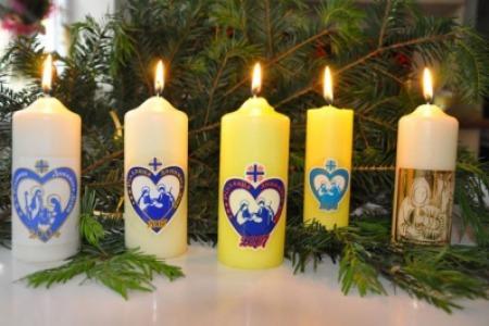 Карітас України розпочинає щорічну загальнонаціональну благодійну акцію «Різдвяна свічка»
