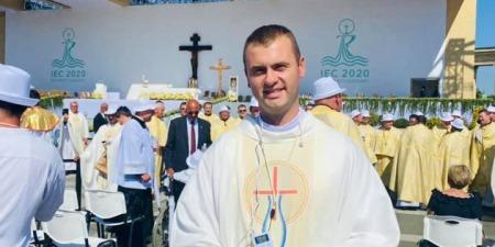 """""""На цій Месі я відчув, що Папа є мудрим Пастирем, через нього діє Бог"""", - о.Євген Фізер"""