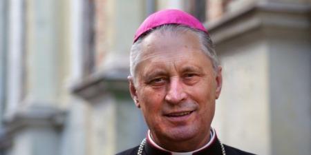 """""""Бажаю щастя всьому українському народу"""", - єпископ Броніслав Бернацький"""