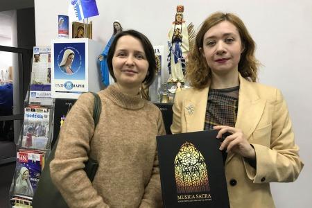 """Видавництво """"Кайрос"""" видало збірник «Musica Sacra. Хорові твори для співу під час Літургії»"""