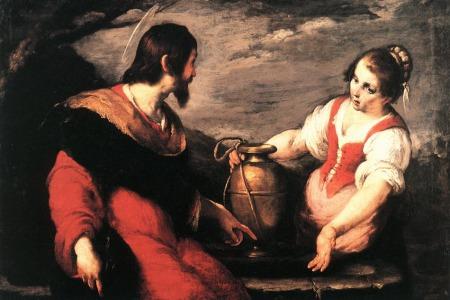 Ісус та жінка самарянка - катехеза о. Олексія Самсонова на недільне читання ІІІ тижня Великого Посту