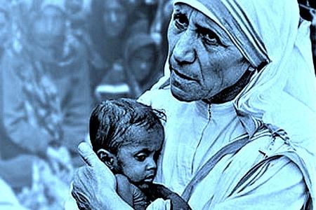 «Я читав історію, коли на прохання милостині в багатому домі Мати Тереза отримала у відповідь сильний удар по лицю, на що вона лиш сказала, а тепер подайте моїм бідним…»