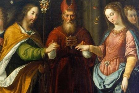 """""""Немає сумніву, що сам Святий Дух закохав святого Йосипа в Пресвяту Богородицю"""", - Ірена Сашко"""