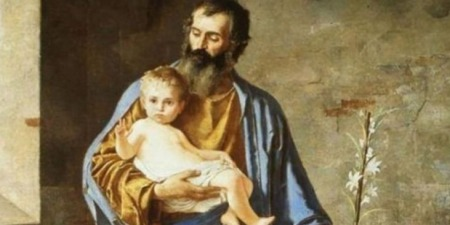 Св.Йосиф батьківською владою опікувався Святим Сімейством, яке було початком Церкви...