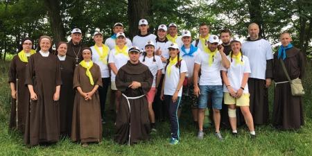 Францисканська молодь України проповідує Христа ділами