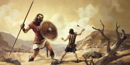 """""""П'ять камінців Богородиці або як перемогти Голіафа"""", - коментар Євангелія дня"""
