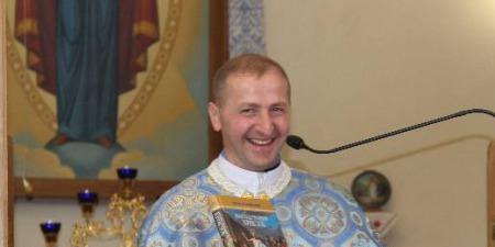 """""""Господь ділиться з нами своїм життям, щоб повернути нам радість, яка була втрачена через гріх!"""" - отець Григорій Рогацький"""