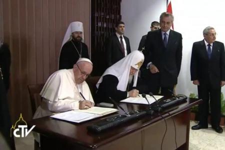 Папа і Патріарх: «дві години братніх розмов» про Близький Схід, Україну і традиційні цінності...