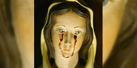 Марія страждає, часом плачучи кривавими сльозами!
