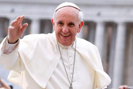 Папа Франциск привітав Східні Церкви з Різдвом!