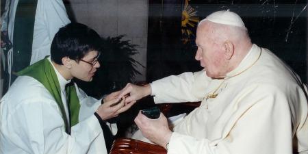 """""""У Бога все можливе... і моя зустріч з Папою Римським цьому яскраве підтвердження"""" - отець Павло Вишковський"""