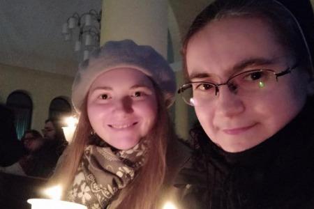 """""""Багато молодих людей дійсно приїхали молитися"""", - сестра Дам'яна Галущак"""
