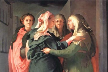 """""""Звідки ж мені це, щоби до мене прийшла Мати мого Господа?"""" - коментар Євангелія дня"""