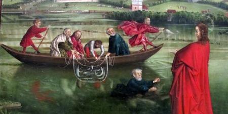 """""""Зустріч з воскреслим Ісусом на березі Тиверіадського моря"""", - коментар Євангелія дня"""