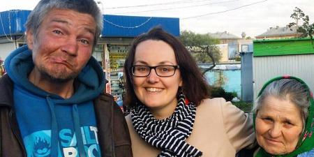 """""""Я хочу, щоб мої діти бачили приклад батьків, які допомагають іншим,"""" - координаторка руху """"Молодь за мир"""" в Україні - Ольга Макар."""