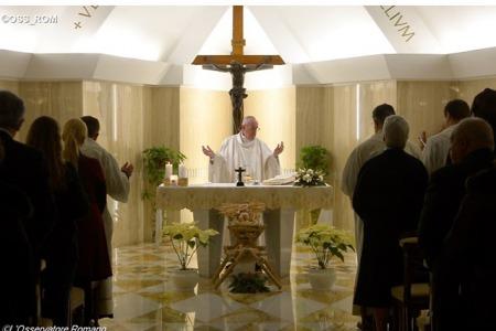 Папа: Бог випереджує нас у любові