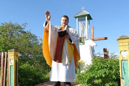 """""""Через Ісуса Христа ми стали покликаними бути в повноті Божого життя!"""" - отець Віталій Слободян"""