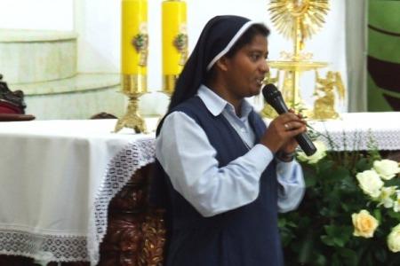 """Сестра Ліджі Пайяпілі: """"Свобода - це не те, що я хочу роботи. Свобода - це вільність від лукавого"""""""