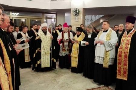 Міжконфесійна молитва у Києві зібрала протестантів з України і Латвії та представників УГКЦ