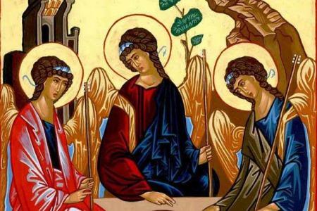 """""""В таємниці Пресвятої Трійці людина теж має своє місце"""" - отець Віталій Слободян"""