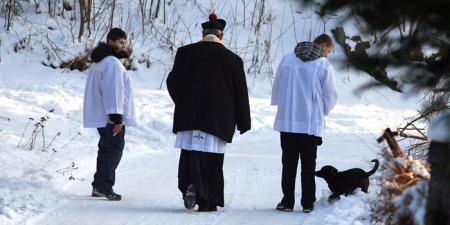 """""""Це було на Вінниччині у піст: священники пройшли вулицями з колядою і хвороба відійшла"""", - о. Лаврентій Жезіцький"""