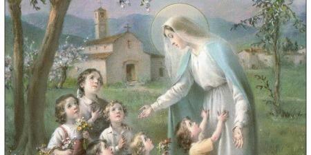 Якщо ми заручились заступництвом Діви Марії в своєму житті, то й станемо чистими та непорочними, як Марія