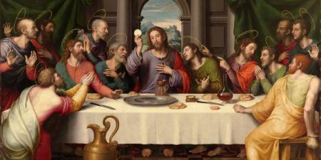 Вітаємо усіх священників з встановленням Таїнства Євхаристії та Священства