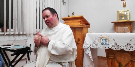"""""""Вершина духовного спокою настає тоді, коли душа замовкає, а починає говорити Господь"""", - отець Сворад Дуда"""