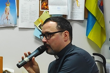 Конференція домініканця Войчеха Сурувки для волонтерів Радіо Марія про євангелізацію