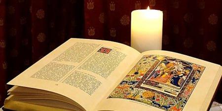 """""""Не можна розпочинати читати Біблію зі Старого Заповіту, краще її читати з Євангелії від Марка"""", - о.Олександр Халаїм"""