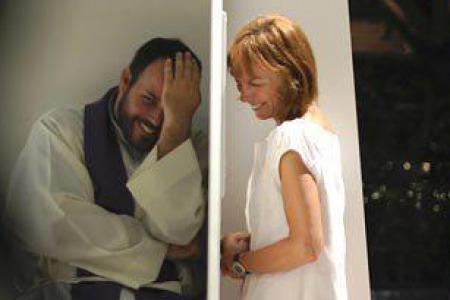 """Отець Міхал БРАНКЕВИЧ: """"Іди, сідай на вівтар! Хай люди тобі поклоняються, бо ти свята! - Крикнув священик """"каяльниці"""" висунувши голову з конфесіоналу"""""""