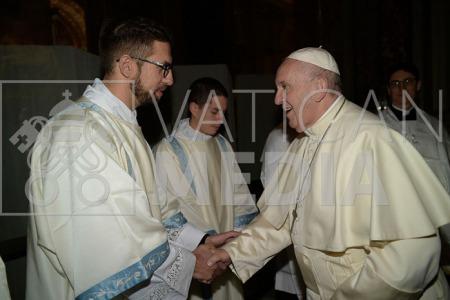 """""""Вчишся у Біблікумі? - Бідолаха!"""" - Отець В'ячеслав Окунь про зустріч з Папою"""
