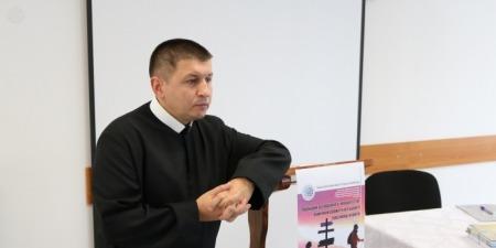 """""""Мій досвід навчив мене бути делікатним, але без сумніву я стою на позиції захищати правду"""", - отець Йосафат Хаймик"""