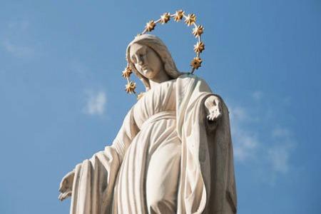 Запрошення на молитву за встановлення фігури Матері Божої