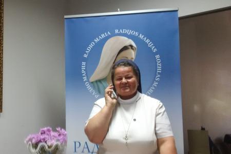 Подяка за пожертви для Радіо Марія в травні